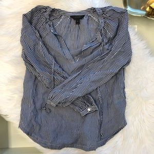 J.Crew striped blouse size 00